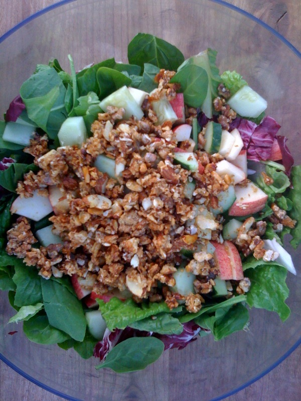 Early Fall Salad {gluten-free, vegan}