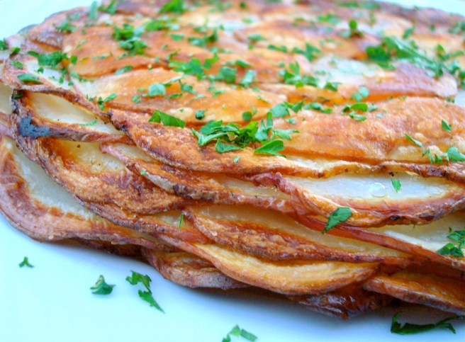 Potatoes Anna {gluten-free}