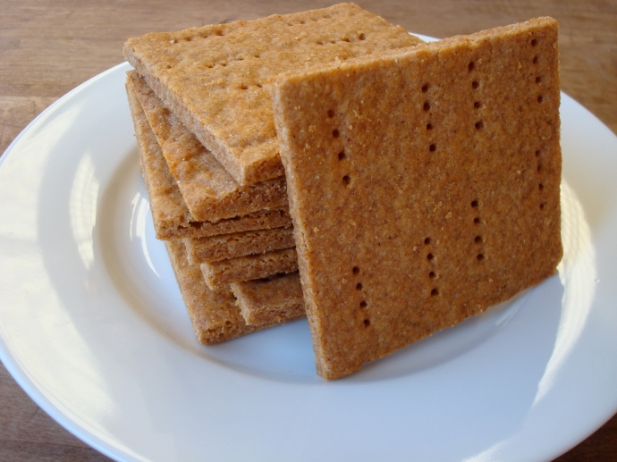 Graham Crackers {gluten-free, vegan}