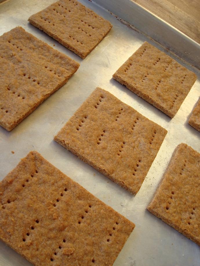 Graham Crackers {gluten-free, vegan}