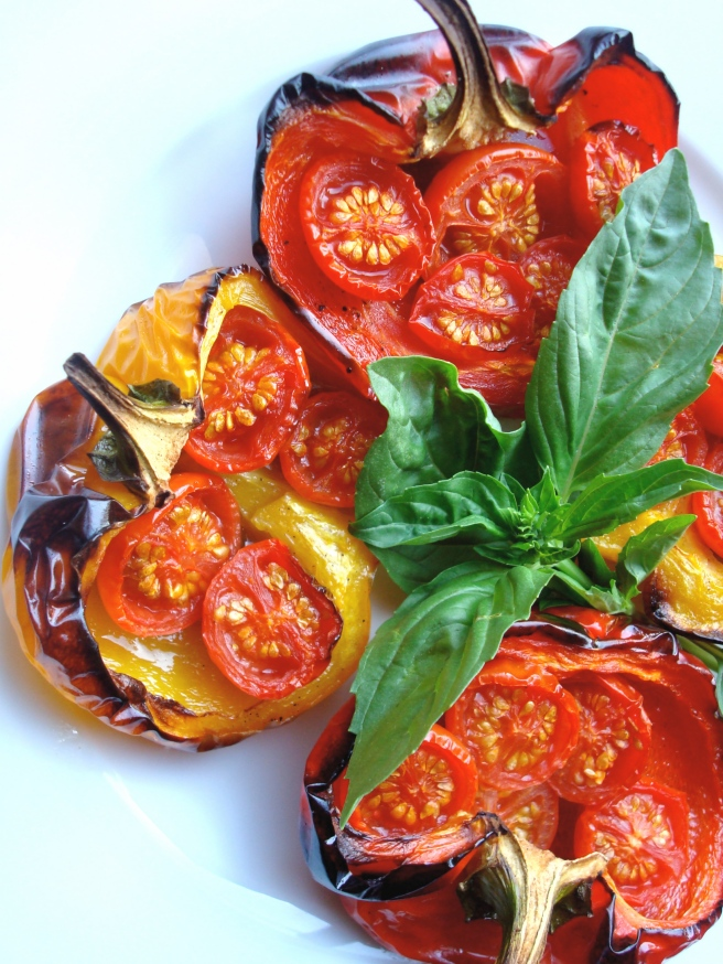 Stuffed, Roasted Peppers in the Piedmont Style {gluten-free, vegan}
