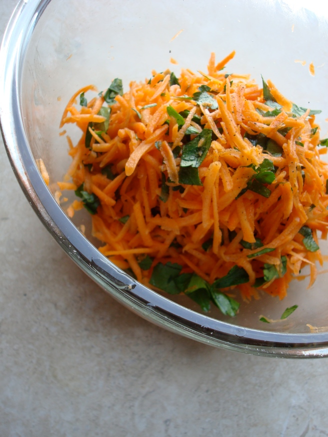 French Bistro Carrot Salad {gluten-free, vegan}