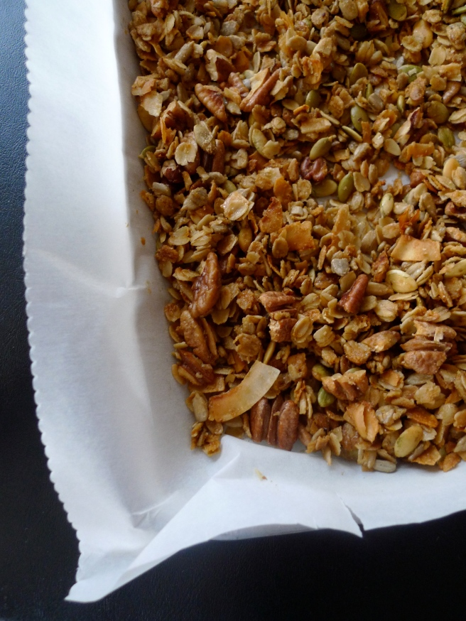 Olive Oil and Maple Granola